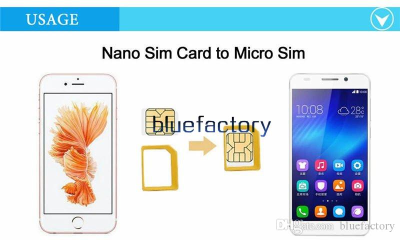 Aluminum Metal 5 in 1 Nano Sim Card Adapters Micro Sim Stander Sim Card Tool for iphone 6s 5s all cell phone Devices with retail box