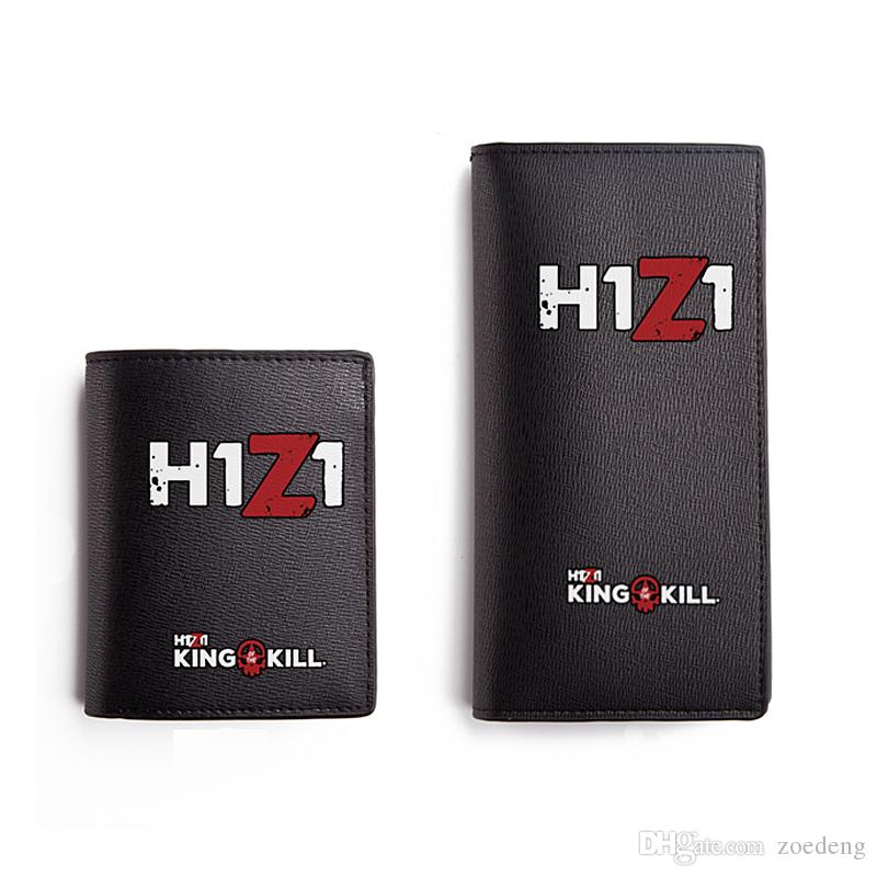 h1z1 wallet for men black high quality pu long purse teenagers