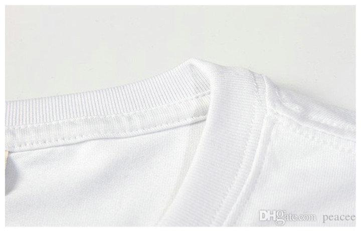 Seguro camiseta de manga corta fresca sin duda encabeza tee palabras la impresión grande gown Ropa unisex de algodón puro camiseta