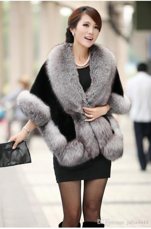 2019 New Bridal Wraps Winter Wedding Coat Faux Fur Warm shawls Outerwear Black Burgundy White Korean Style Women Jacket Prom Evening Party