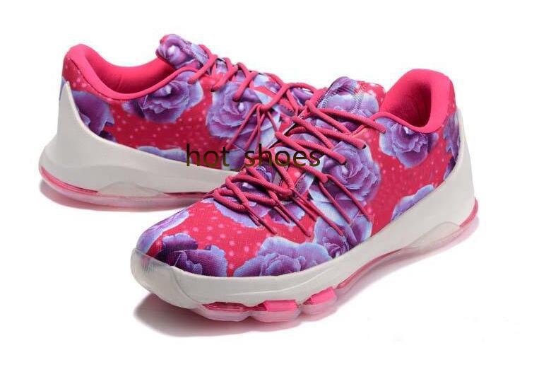 100% authentic 338fa 8c147 2014 New Nike Kevin Durant KD 6 VI Supreme Aunt Pearl For Sale