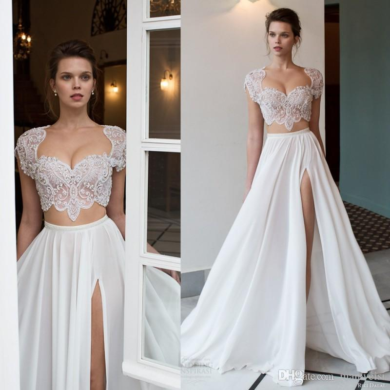 Two Piece Wedding Dresses 2018 Fashion Dresses