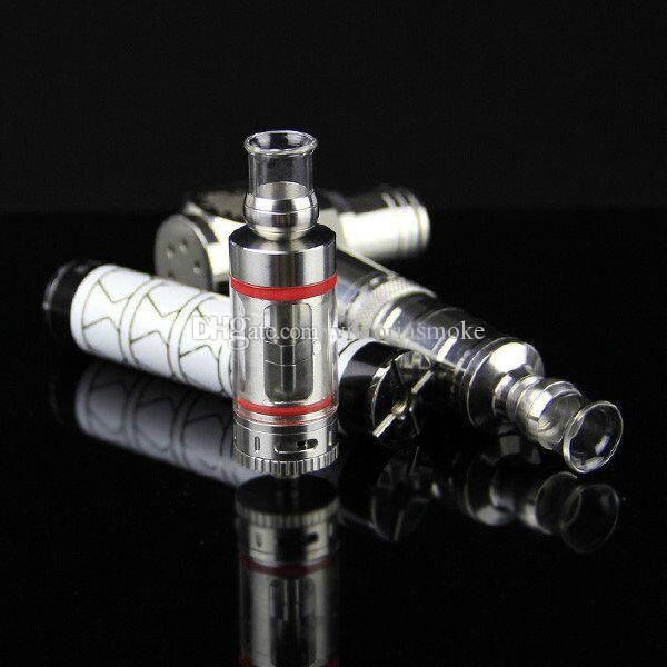 510 Glass Stainless Steel Drip Tips 510 Glass Wide Bore Drip Tip EGO Atomizer Mouthpieces for E Cig EVOD Mechanical Mods Atty Tanks