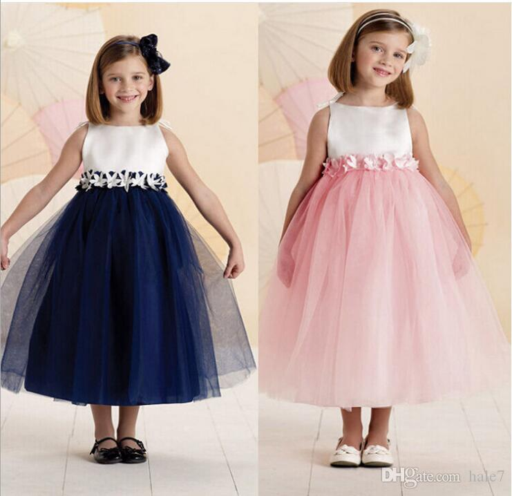 Perfecto Vestidos De Dama Baratos Para Los Niños Embellecimiento ...