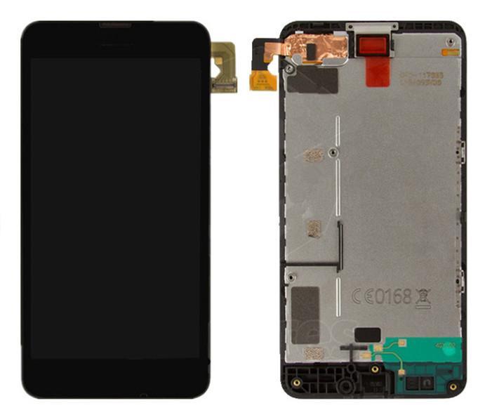 Sostituzione schermo LCD Touch Screen Digitizer con cornice Nokia 630 Lumia con Logo Spedizione gratuita + strumenti
