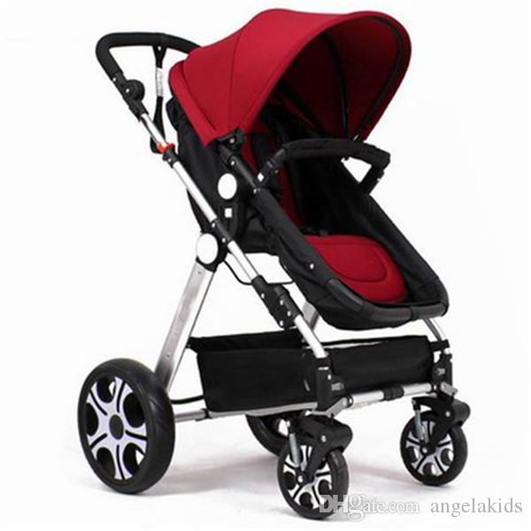 العربات طفل عربة ماونتن عربة 2015 نانو في روبي جديد فتح مربع سلة التسوق نوع أربعة عجلة صدمة الطفل عربة اتجاهين سيارة الطفل