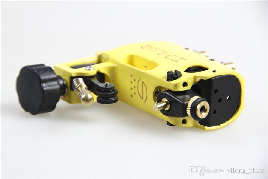 Tattoo Maschine Hohe Qualität Stigma Hyper V3 Tattoo Maschine Gelb Farbe Rotary Gun Für Shader Und Liner Kostenloser Versand