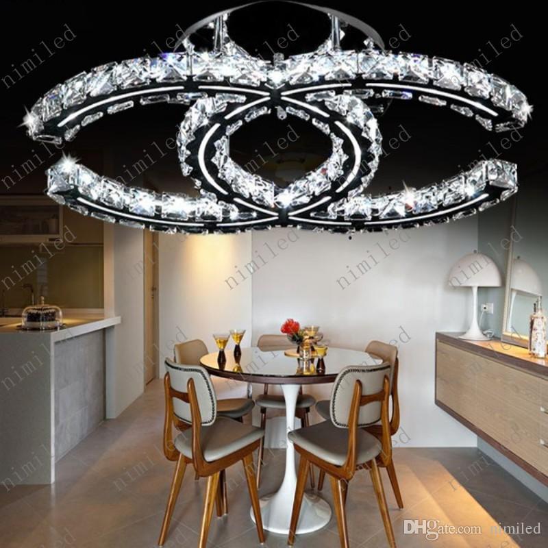 nimi788 Modern Limpar Lustres de Cristal LEVOU Sala de Teto Luzes da Sala de Lâmpadas de Quarto Loja de Roupas Quentes Luminárias Restaurante Droplight