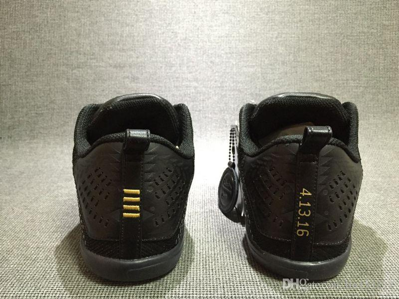 a6d8a9d676a 20 Kobe 11 FTB Elite Low 869459 001 Black XI Basketball Shoes Zoom Black  Gold Kb 11s Final Match Last Game 4.13.16 Basketball Sneaker US7 12 Womens  Running ...