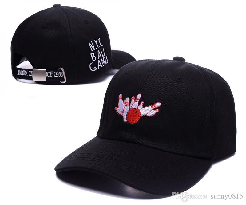 440408a704d HOT 2016 New NYC BALL GAME Ball Cap Adjustable Sport Hats Man Woman Baseball  Caps Sun Hat Golf Hats Outdoor Caps Bowling Ball Flexfit Cap Ny Caps From  ...