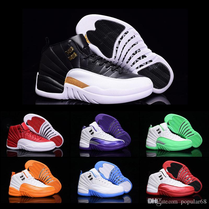 767d36e36068b3 2019 Drop Shipping Wholesale Basketball Shoes Men Women 12 XII Sneakers  2018 New Color High Quality Cheap Sports Shoes Size 5.5 13 From Popular68