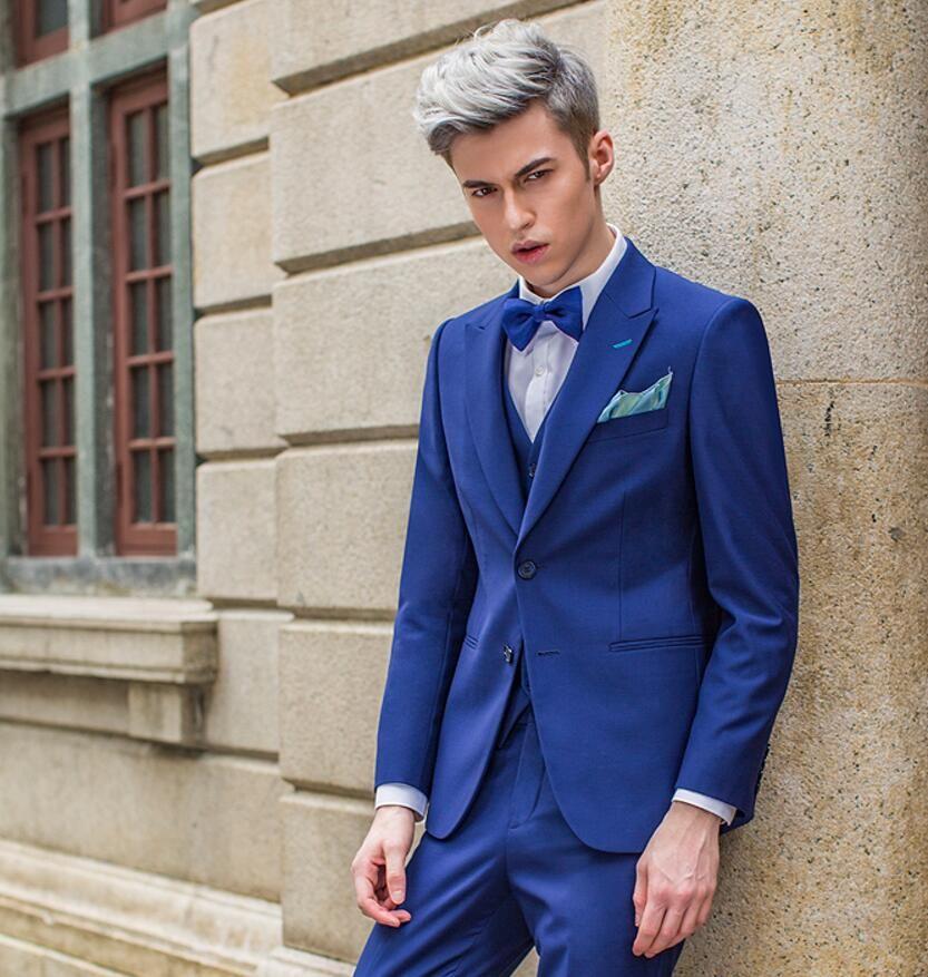 Color chaqueta para vestido azul marino