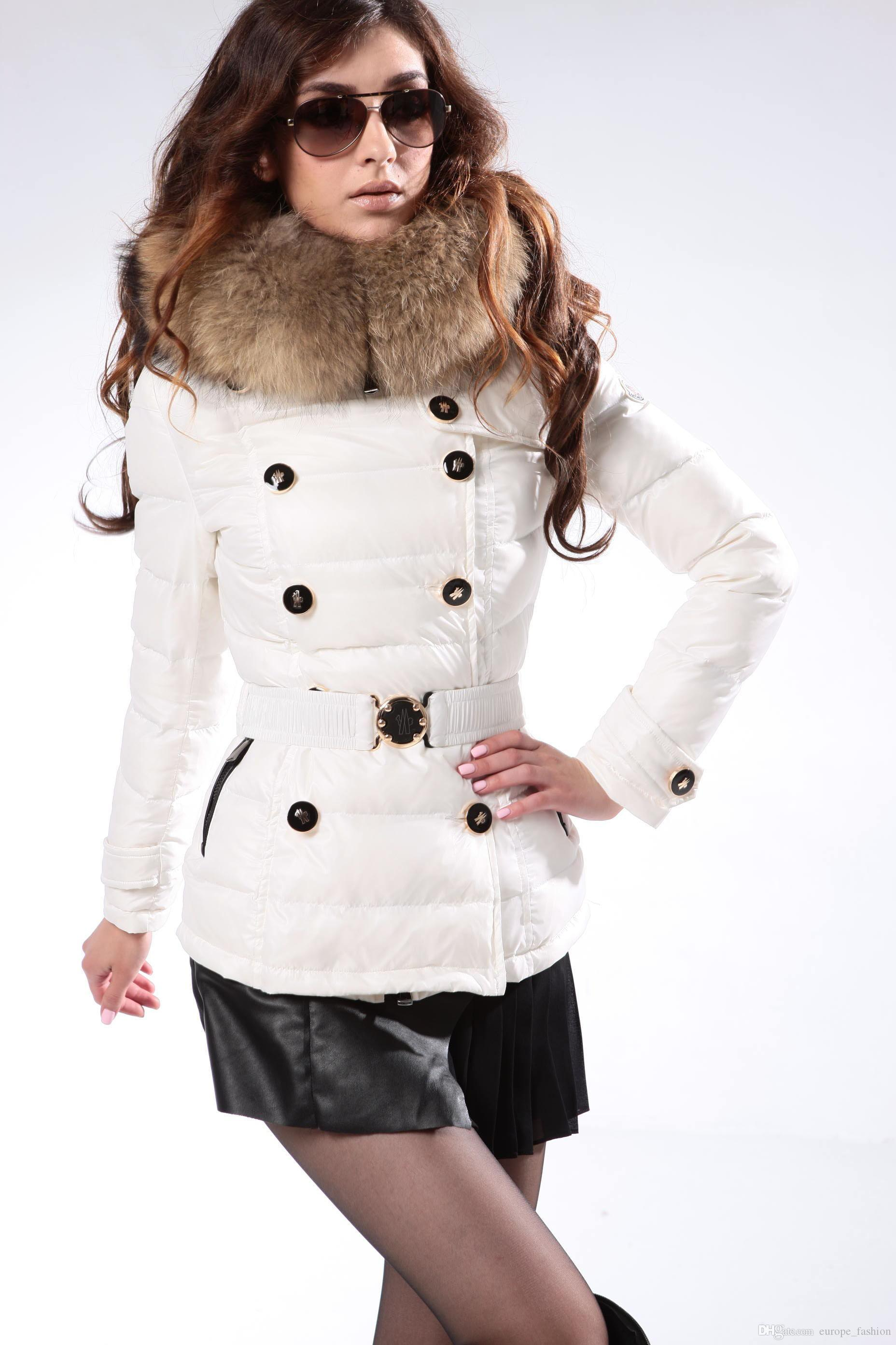 2018 New Maxi 2016 Winter Jacket Women Real Fur Collar Winter Coat ...