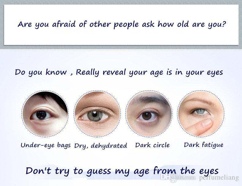 20g Crema gli occhi Marchio BIOAQUA Cura della pelle Mirtilli Idratante Idratante Sbiancante Antirughe Rimuovere i cerchi scuri Creme gli occhi