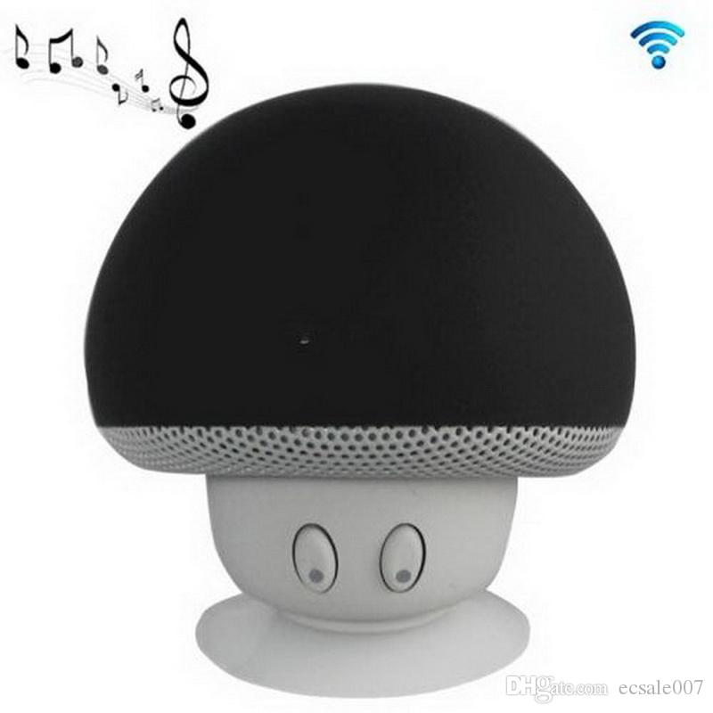 Funghi Mini Wireless Bluetooth Speaker vivavoce Sucker Coppa Audio Music Receiver Stereo Subwoofer USB Android IOS PC 1072
