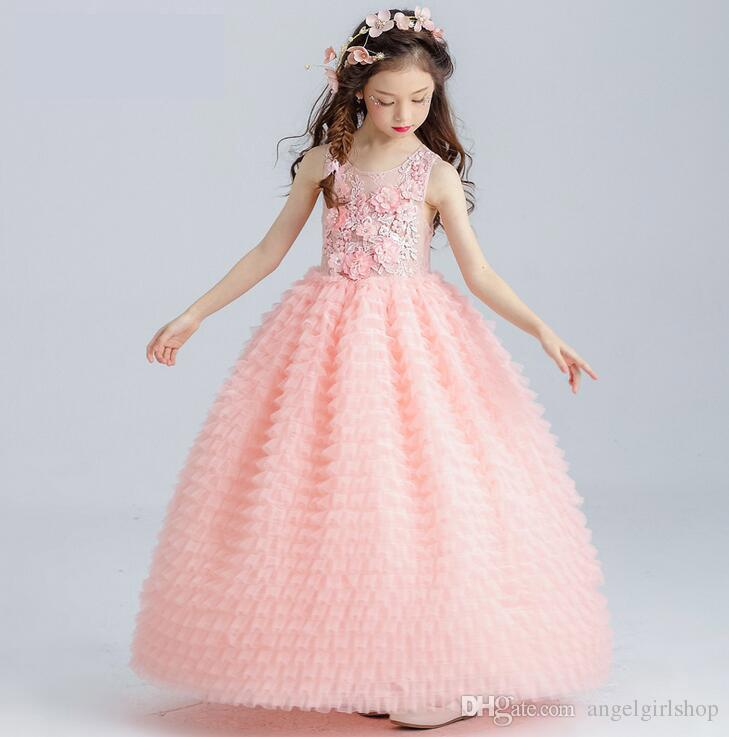 Baby Peach Pageant Dresses For Girls Glitz Flower Girl Dresses ...