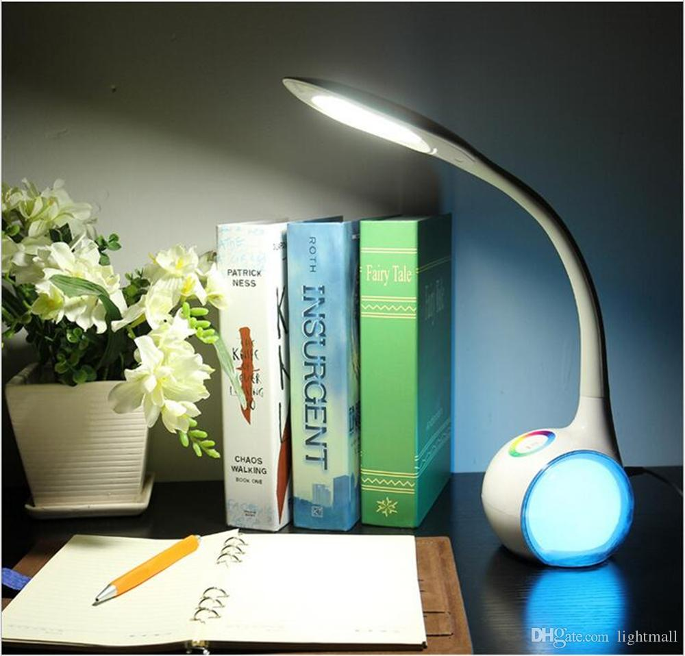 cheap mood lighting. Eye Protection Desk Lamp LED Dimmable Mood Lighting Color Changeable USB Charging Study Lights With 3 Brightness Levels Touch Control Beside Cheap R