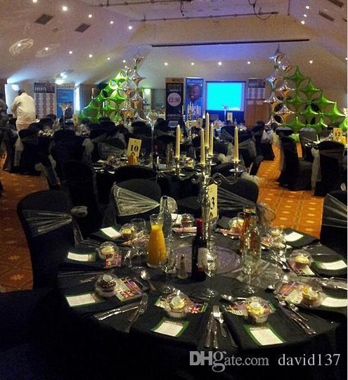 Novo ! Centrais de decoração de casamento Candelabro de mesa castiçal