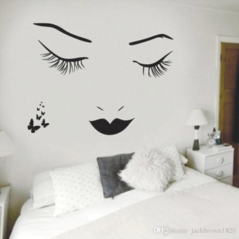 Newest Home Bedroom Decorative Vinyl Wall Sticker Decals Sex Lady ...