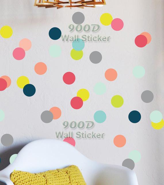 Polka Dot Stickers For Walls Polka Dots Wall Decal Polka Dots - Wall decals polka dots