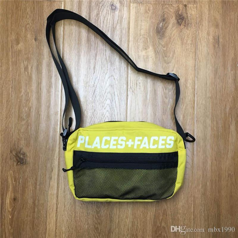 Places + facce Life Bag Skateboards 17ß di alta qualità attraente casuale sveglio di spalla degli uomini Bag Mini Mobile Phone Bag Pack bagagli