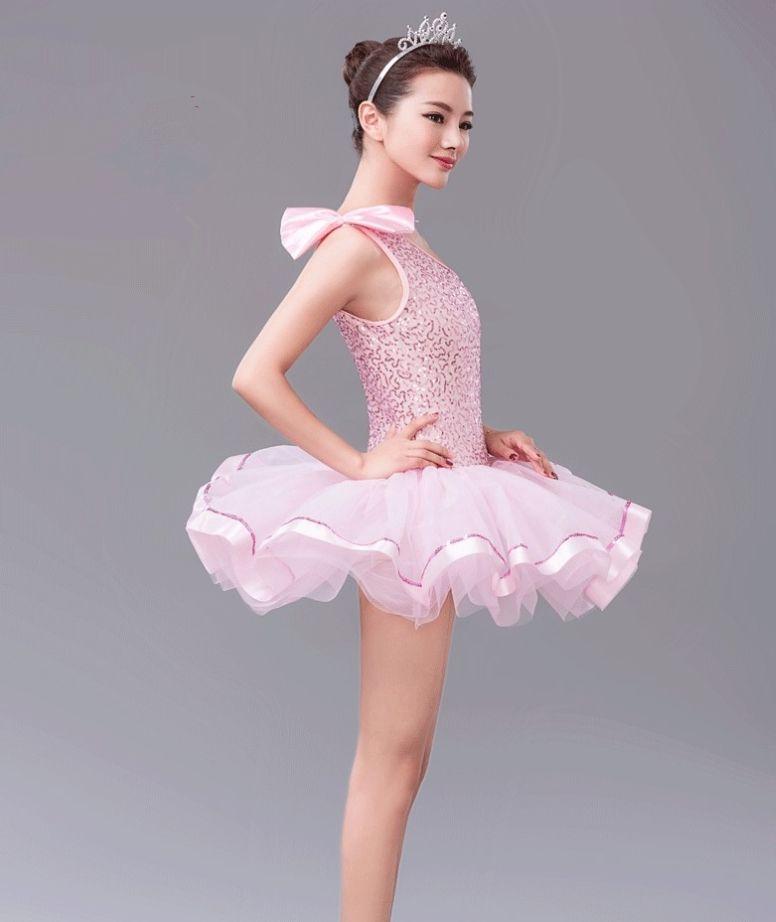 Female Modern Dance Dance Skirt Sequins Stretch Stage Costume Dance Costumefor Girls Dancewear Professional Ballet Tutus Novelty & Special Use Stage & Dance Wear