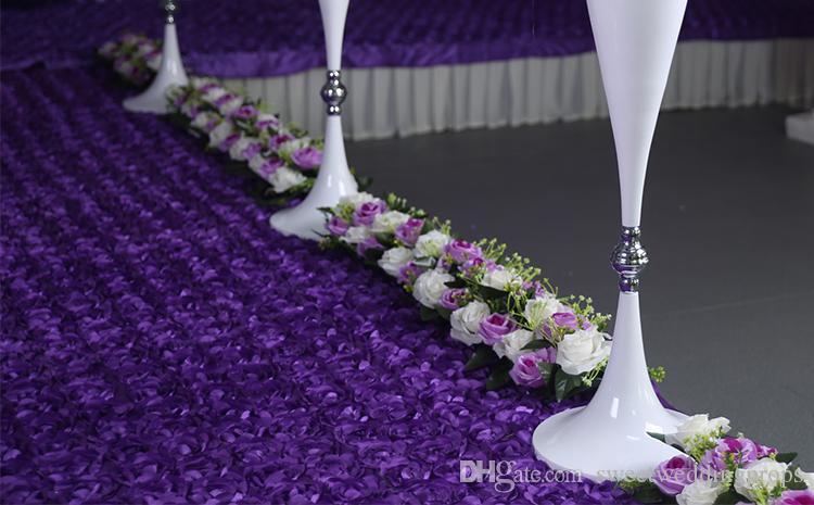 pas de fleurs meilleur vente 70cm candélabres de mariage en vente