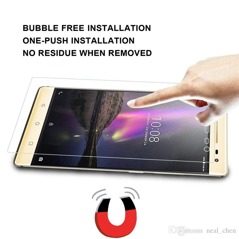 Tempered Glass Screen Protector, Round Edge Protection from Bump, Drops, Scrapes Mark For Lenovo S850 S60 S90 A1000 K3 K5 Plus note K4 S1 X1