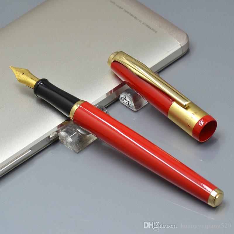 бренд высокого качества Picasso F перо красного металла авторучка школы канцелярской роскоши писать леди подарок на день рождения ручки чернил