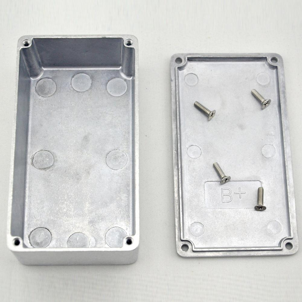 125B/1590N1 hammond Aluminum case guitar stompbox&pedal enclosure for guitar effect pedal project