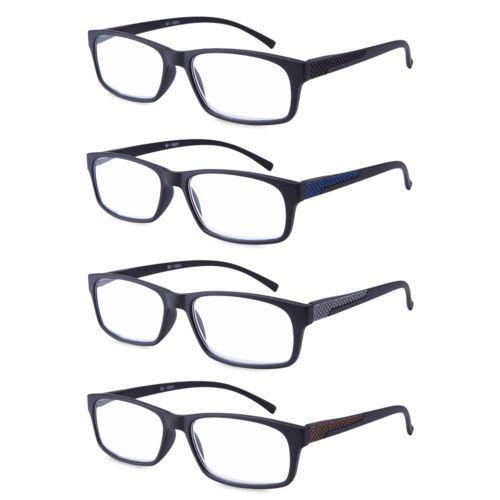 53c967898ee Reading Glasses Readers Spring Hinge Rectangular Sports for Men ...