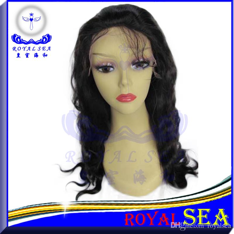Big Water Wave Machine Made Human Hair Wig Peruvian Machine Made Wigs Bleached Knots Free Part Human Wave Hair Human Hair Wigs