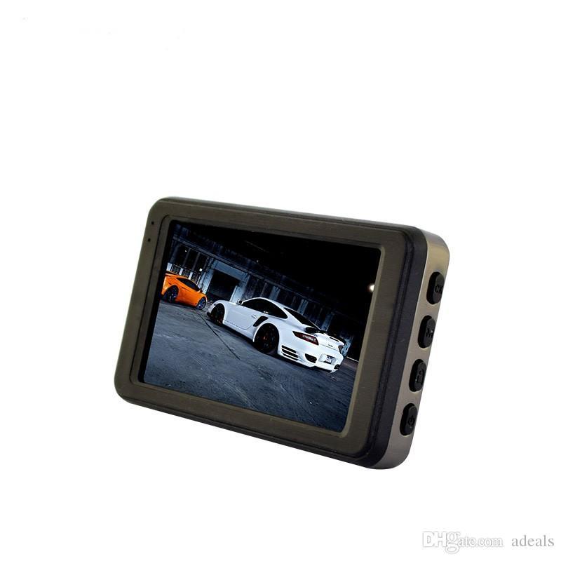 3 inch car dvr with G-sensor car camera full hd 1080P 120degree angle dash camera T611 metal case automobile recorder