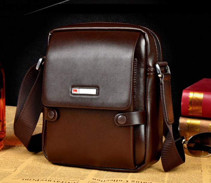 6738ff5cf535 Wholesale- Genuine Leather Men Bags Small Crossbody Shoulder Handbag Casual  Man Leather Messenger Mini Bags Male Bag