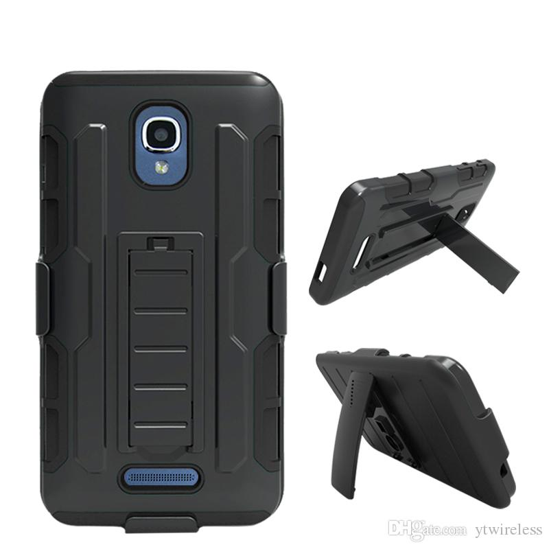 For Samsung Galaxy On5 G550 Coolpad 3622A 3623A Defender Hybrid Combo  Holster Case Belt Clip Kickstand Cover Retail Packaging Free Shipping