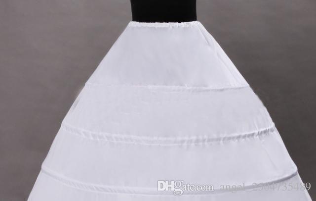 110-120cm Diameter Underwear Crinoline 6 Hoop Petticoat For Ball Gown Dress Wedding Accessories Wedding Dresses Underskirt PE02