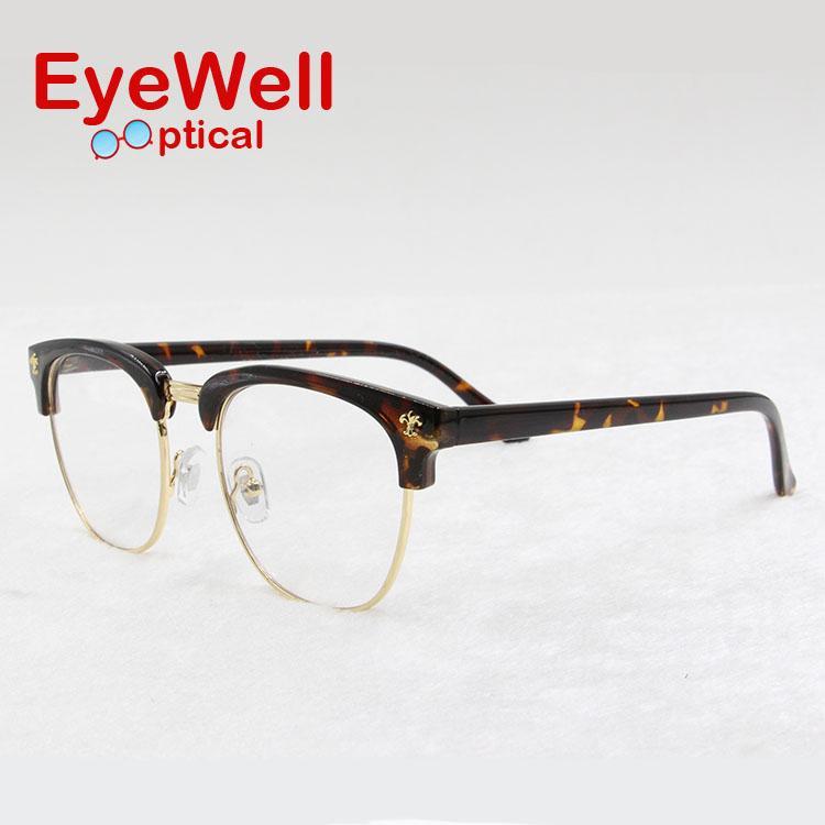 a6baf1233f 2019 Wholesale New Fashion Eyeglasses Vintage Optical Glasses Men Women  Myopia TR90 Eyeglasses Good Quality Light Full Frame 77597 From Ekkk