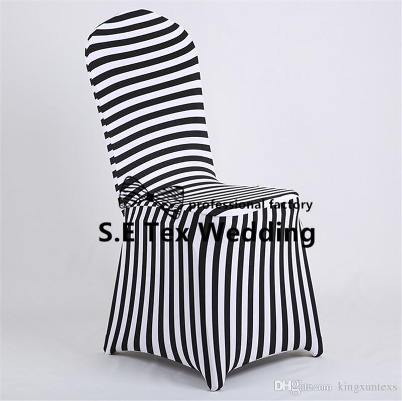 Hot Sale Striped Lycra Spandex Chair Cover \ Cheap Banquet Wedding Chair Cover