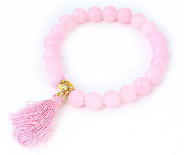 Der Direktverkauf von 8 mm im Fabrikhaus imitiert lose Steinquasten DIY-Mode-String-Perlenarmbandgroßhandel
