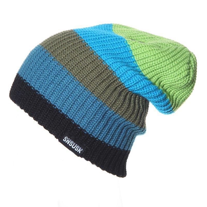 Unisex SNSUSK Famous Brand Men Women Skiing Warm Winter Knitting ... 9e35a74325b2