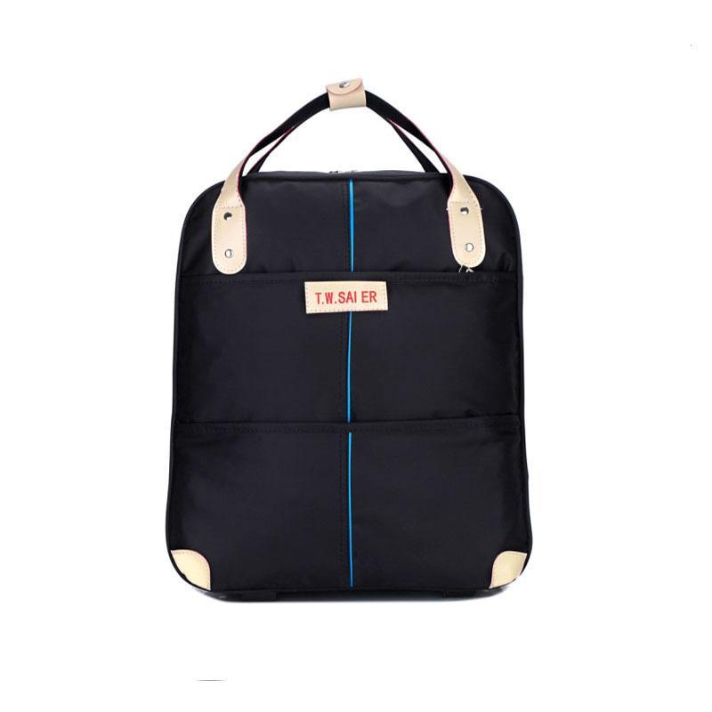 18 Inch Waterproof Travelling Bag Trolley Woman Hand Luggage ...