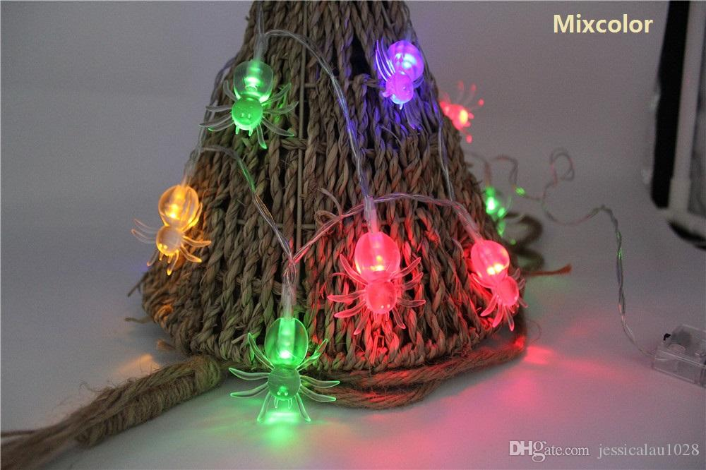 Cheap String Lights 7 6ft 20 Led Spider Waterproof Battery Powered  - Pathway Christmas Lights