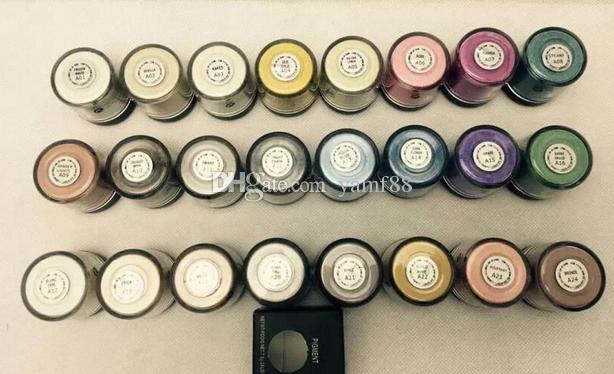 جديد ماكياج 7.5 جرام الصباغ عينيه / المعدنية ظلال العيون مع اسم الألوان الإنجليزية 24 قطعة / الوحدة 24 الألوان اختيار