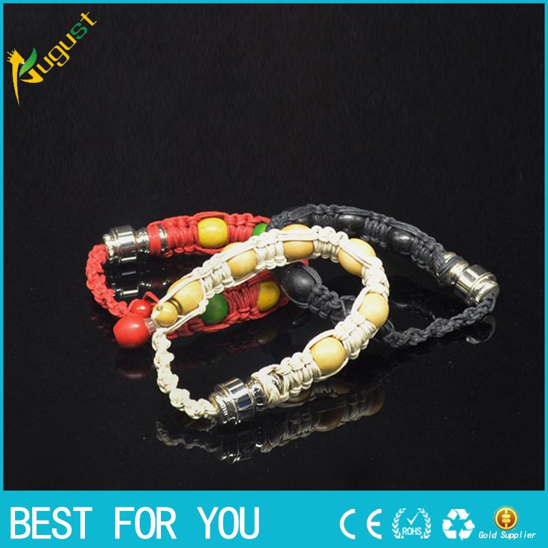 2015 hot sale stash bracelet Stealth Pipe click n vape incognito bracelet smoking pipe for tobacco discreet sneak a toke