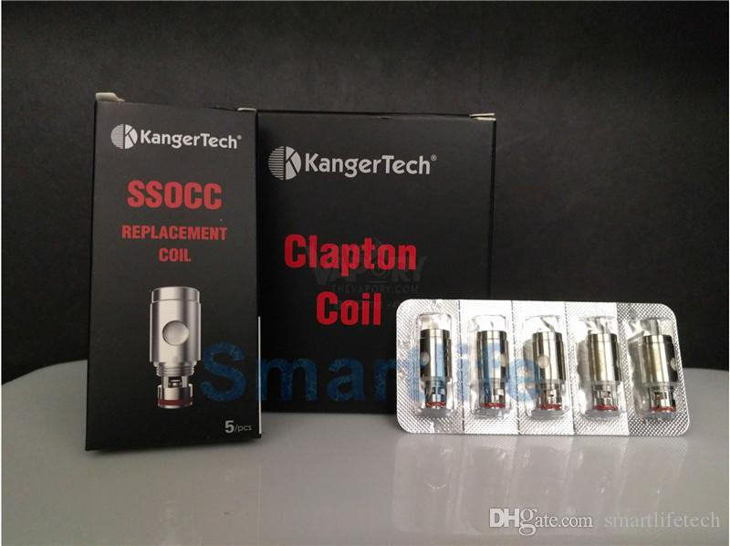 Kanger SSOCC coil head 0.5ohm 1.2 ohm 1.5ohm 0.15ohm Ni200 replacement compatiable Kanger nebox subvod kit DHL free