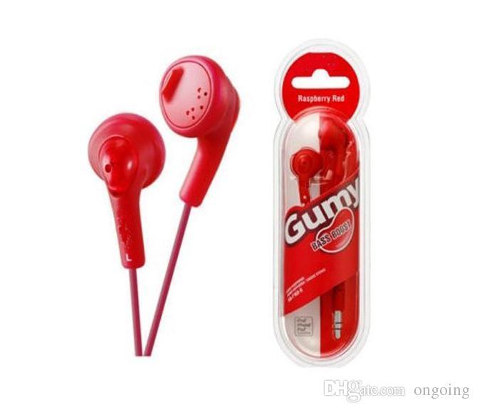 Gumy HA F160 Kulaklık HA-F160 Cep Telefonu Kulaklık Kulakiçi Mic Olmadan Kulak Renkli Kulaklık