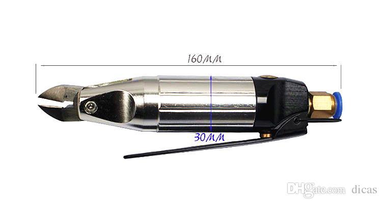 ciseaux micro pneumatiques air cisaillement coupe-vent broches outil de coupe pour couper les composants électroniques broches et petit fil métallique doux