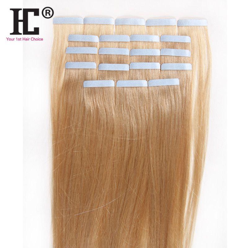 50 جرام 20 قطع 18 بوصة 22 بوصة الشريط في الشعر الإنسان ملحقات الهندي ريمي مستقيم الجلد لحمة الشريط الشعر التمديد
