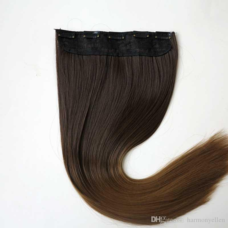 1b5clips synthetic hair clip in hair extensions piece silk 1b5clips synthetic hair clip in hair extensions piece silk straight 24inch can flat iron and curl weft hair extensions uk good quality hair extensions pmusecretfo Choice Image