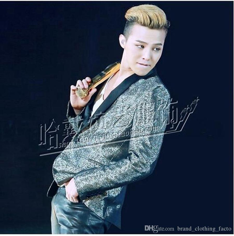 Homme han édition euramerican nightclub chanteur costumes nouveau rue fashion star paillettes vestes scène performance.S - 4 xl